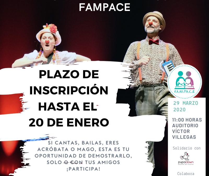 Fampace Insc TALENTOS fecha FAMPACE